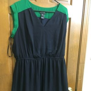 Dresses & Skirts - Navy/green dress